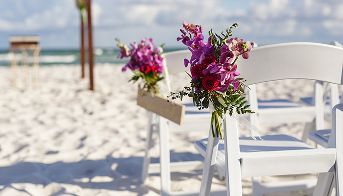 Beach Weddings Hilton Garden Inn Fort Walton Beach Fl