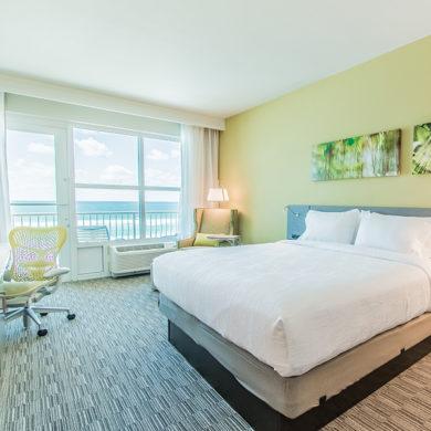 Fort Walton Beach FL Hilton Garden Inn King Gulf View Room Feature