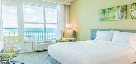 Fort Walton Beach FL Hilton Garden Inn King Gulf View Room Feature