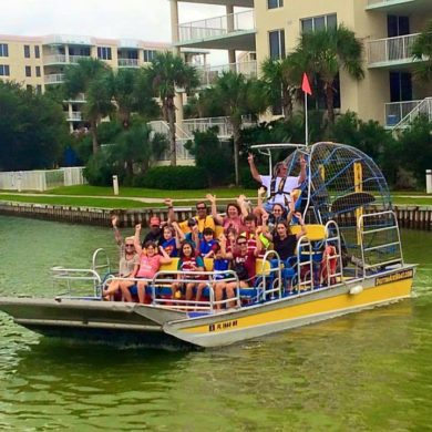 Hilton Garden Inn Fort Walton Beach FL Destin Airboat Tours