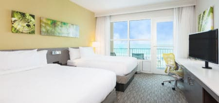 Hilton Garden Inn Fort Walton Beach FL Double Queen Room