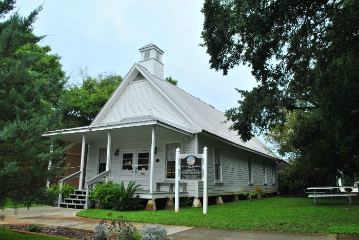 camp walton schoolhouse museum fort walton beach fl