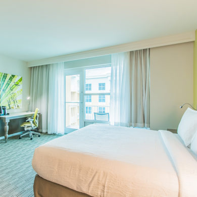 Fort Walton Beach FL Hilton Garden Inn King Junior Suite Room Gulf View
