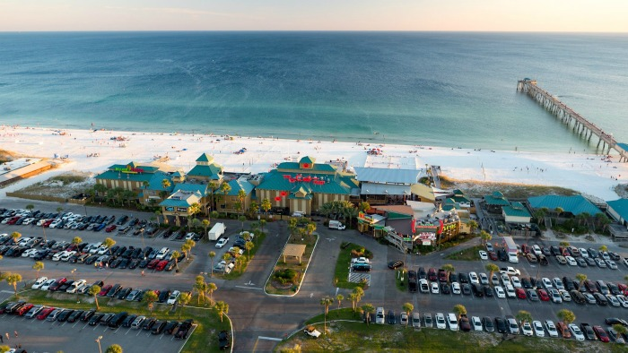 Hilton Garden Inn Fort Walton Beach FL The Boardwalk Okaloosa Island FL